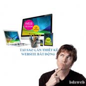 Tại sao cần thiết kế website bất động sản
