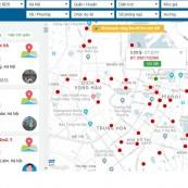 Công nghệ tìm kiếm bất động sản bằng bản đồ chỉ có tại bdsweb.com.vn