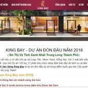 Nhận thiết kế và SEO website dự án bất động sản nhanh Lên Top