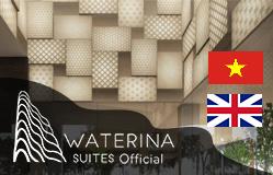 Thiết kế web dự án đẳng cấp Waterinasuites.otit.vn