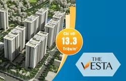 Thiết kế web dự án Thevesta.org