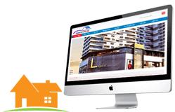 Thiết kế web bđs Nhadatdanang24h.otit.vn