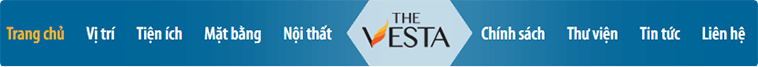 Menu website dự án Thevesta